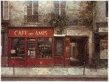 Cafe des Amis Posters by Chiu Tak-Hak
