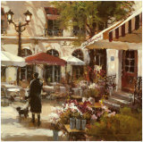 Floral Promenade Posters by Brent Heighton