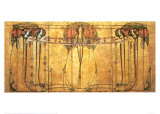 The May Queen Print van Margaret MacDonald