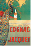 Cognac Jacquet Lærredstryk på blindramme af Camille Bouchet