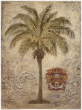 Coconut Palm with Crest Prints by  Ivo
