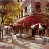 Mattina Terrace Prints by Brent Heighton