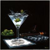 Olive Party II Plakater av Michael Godard