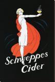Schweppes Cider Lærredstryk på blindramme