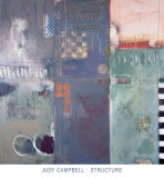 Structure Kunstdrucke von Judy Campbell