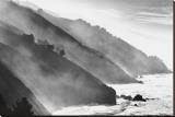 Big Sur Coastline, California Stretched Canvas Print