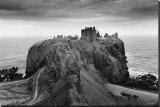 Dunnottar Castle, Scotland Stretched Canvas Print