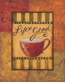 Life's Good Posters by Pamela Smith