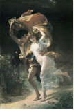 The Storm Stretched Canvas Print by Pierre-Auguste Cot