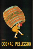 Cognac Pellisson Stretched Canvas Print by Leonetto Cappiello
