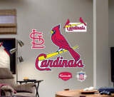 St. Louis Cardinals Logo -Fathead Wall Decal