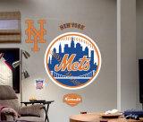 New York Mets Logo -Fathead Wallsticker