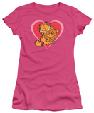 Juniors: Garfield-Cute N&#39;Cuddly T-Shirt