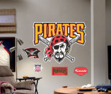 Pittsburgh Pirates Logo -Fathead Wall Decal
