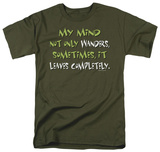 Attitude - My Mind Not Only Wanders T-shirts