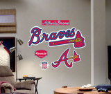 Atlanta Braves Logo -Fathead Wall Decal