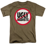 Retro - No Ugly Nudists Shirts