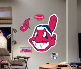 Cleveland Indians Logo -Fathead Wall Decal