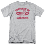 Garfield - Property of Lasagna T-shirts