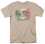 Around the World - Mexico Flag Fade T-Shirt