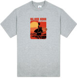 Island Edge - Sunset Surfer T-shirts