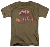 Around the World - Windy City T-shirts