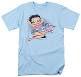 Betty Boop - All American Girl Shirts