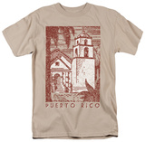 Around the World - Puerto Rico Cityscape T-Shirt