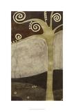 Sylvan Spirals II Premium Giclee Print by June Erica Vess
