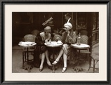 Cafe et Cigarette Paris, 1925 Posters