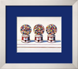 Three Machines, 1963 Prints by Wayne Thiebaud