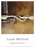 Copper Concerto I Prints by Laurie Maitland