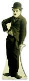 Charlie Chaplin Silhouette en carton