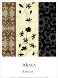 Baroque I Prints by  Ahava