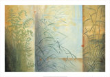 Ferns and Grasses Art by Don Li-Leger