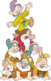 Seven Dwarves Stand Up