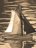 Les Petits Bateaux II Prints by Marina Drasnin Gilboa