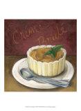 Crème Brulée Poster von Megan Meagher