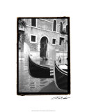 Resting Gondolas Giclee Print by Laura Denardo
