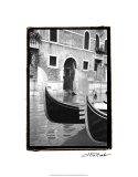 Resting Gondolas Premium Giclee Print by Laura Denardo