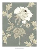 Peony Elegance II Giclee Print by Nancy Slocum