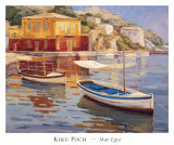 Mar Egeo Prints by Kiku Poch