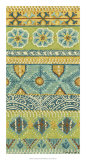 Eastern Embroidery I Giclee Print by Chariklia Zarris