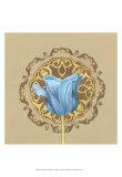 Gilded Tulip Medallion II Prints by Erica J. Vess