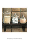 Modern Bath Elements II Prints by Megan Meagher