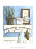 Coastal Bath IV Prints by Megan Meagher