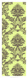 Vivid Damask in Green II Giclee Print