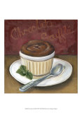 Chocolate Souffle Prints by Megan Meagher