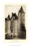 Small Sepia Chateaux VII Prints by Victor Petit