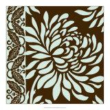 Striking Chrysanthemums II Giclee Print by Nancy Slocum